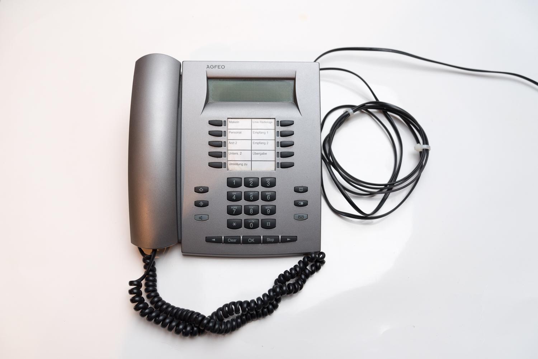 Agfeo STE 40 Tastenerweiterung für Telefon Schwarz Rechnung 19/% MwSt